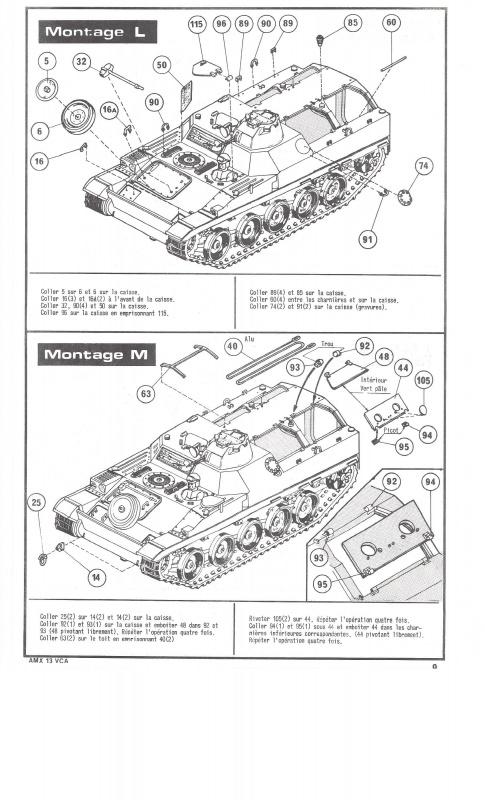 AMX 13 VCA 1/35ème Réf L 786 320237VCA009