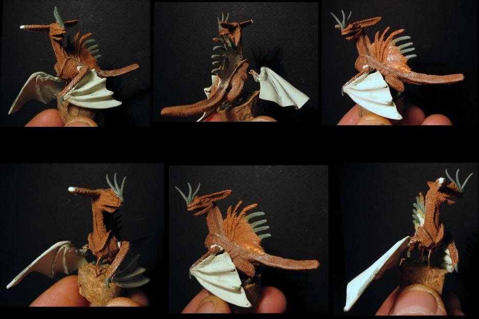 Dragon et Dragoniere (sculpture perso) 321189xxxxl40145kxxsss