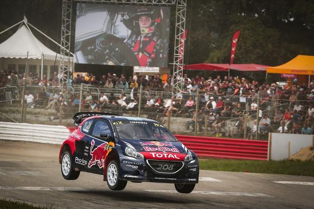 Rallycross : La PEUGEOT 208 WRX triomphe à domicile avec Timmy Hansen ! 32164255eb5347897db