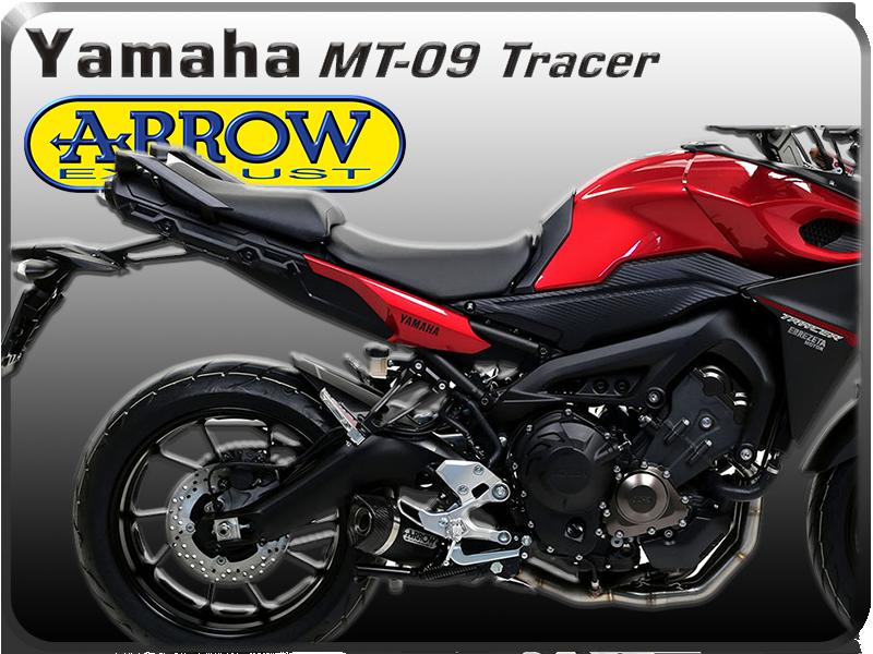Récapitulatif des pots d'échappements pour la Yamaha Tracer 323169SCARICOCOMPLETOARROWTHUNDERALLUMINIODARKYAMAHAMT09TRACER2