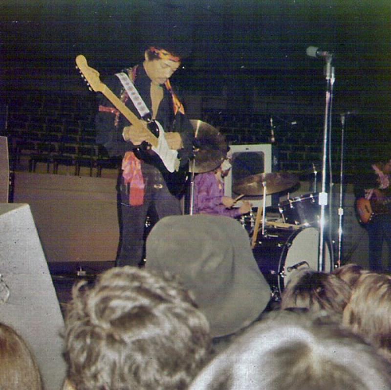 San Antonio  (Hemisfair Arena) : 10 mai 1970  32369619700510SanAntonio02