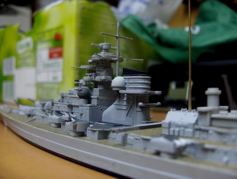 Bismarck 1/700 [Trumpeter] 324786HPIM2059
