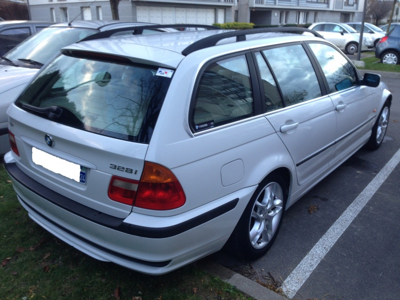 Ma nouvelle acquisition une BMW 320iA Touring 326967IMG5201