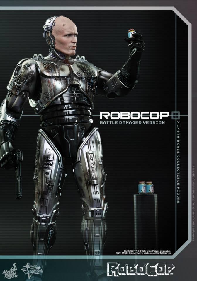 HOT TOYS - Robocop - Robocop (Battle Damaged Version) 328973110
