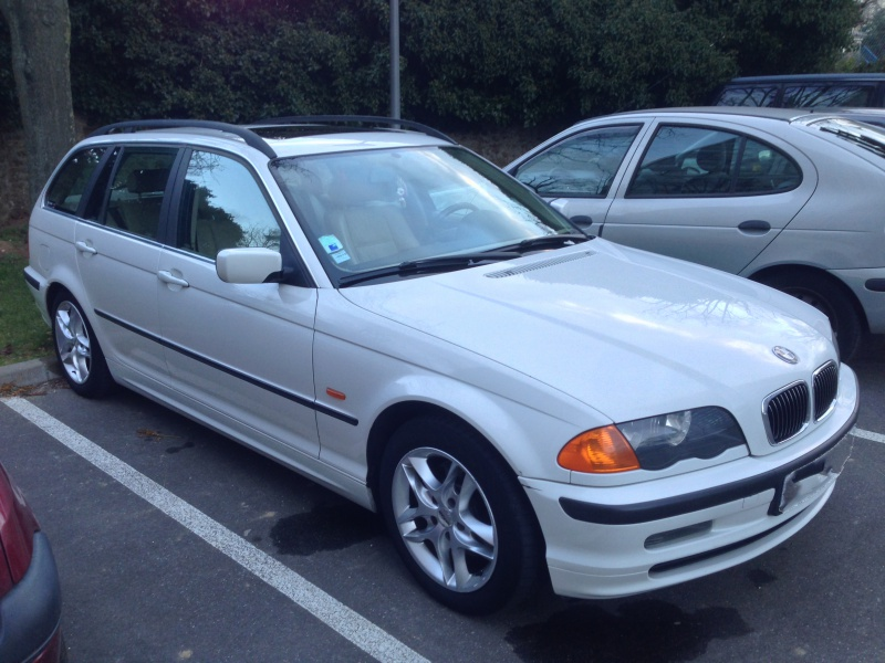Ma nouvelle acquisition une BMW 320iA Touring 329239IMG5207