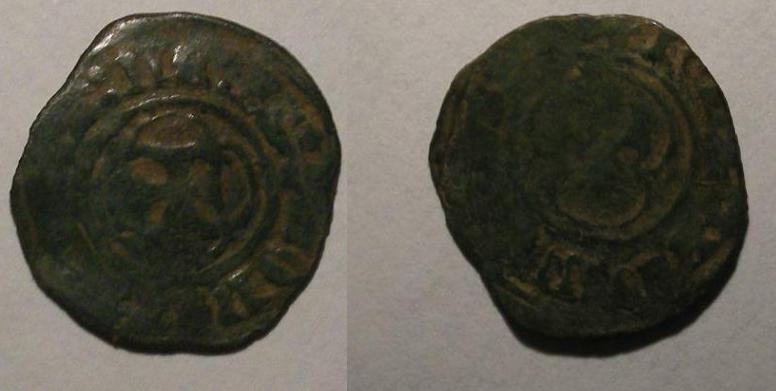 Obole tournois de Jeanne de Merwede -Seigneurie de Gerdingen  331060bil3