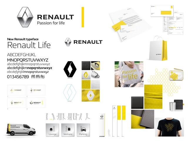 """""""Renault - La vie, avec passion"""" : la nouvelle signature de la marque au Losange 3314996814916"""