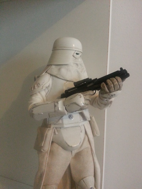 red360 review's : Star Wars Battle Of Hoth: Snowtrooper by Sideshow 33542920130426163536