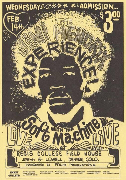 Denver (Regis College) : 14 février 1968 336517Denvern
