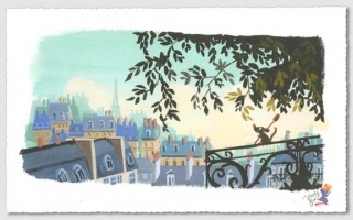 [Collection] Disney Fine Art de Collectors Editions (artworks) 336691The20Flavor20of20Paris208x16