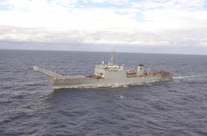 LANDING SHIP TANK (LST) CLASSE NEWPORT  338321USSSpartanburgCountyLST1192