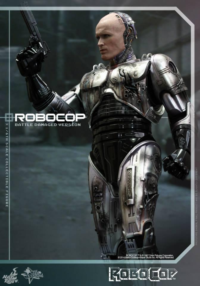 HOT TOYS - Robocop - Robocop (Battle Damaged Version) 339924103
