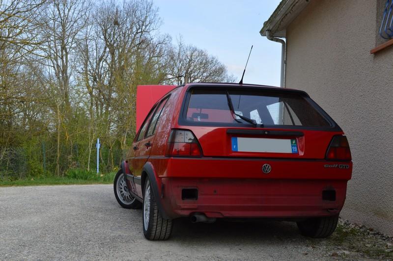 [Golf 2 GTD 1989 Rouge Tornado] Mon Nouveau Daily 340419DSC1693