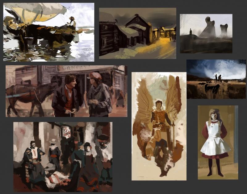 Blop is painting - LE RETOUR SANS CONCESSIONS 341849color70
