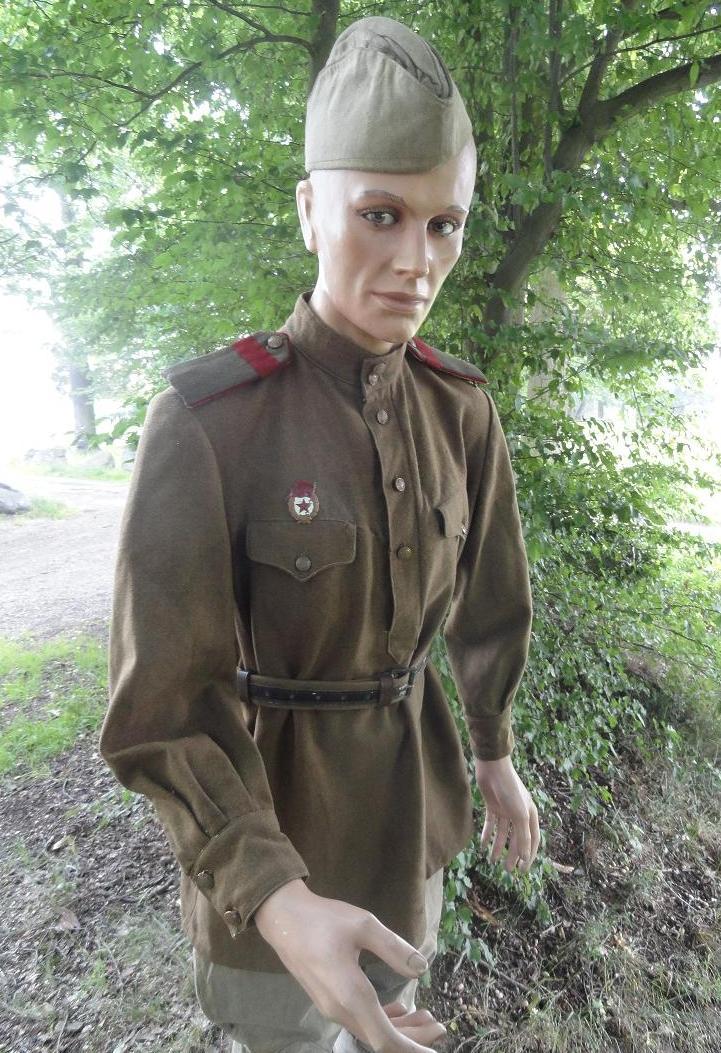 Armée rouge - Breslau et Torgau 1945 - tenue de combat 342871Torgau7