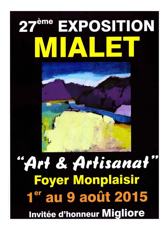 Exposition à Mialet ( Gard ) 1 au 9 Aout 343490expo2015
