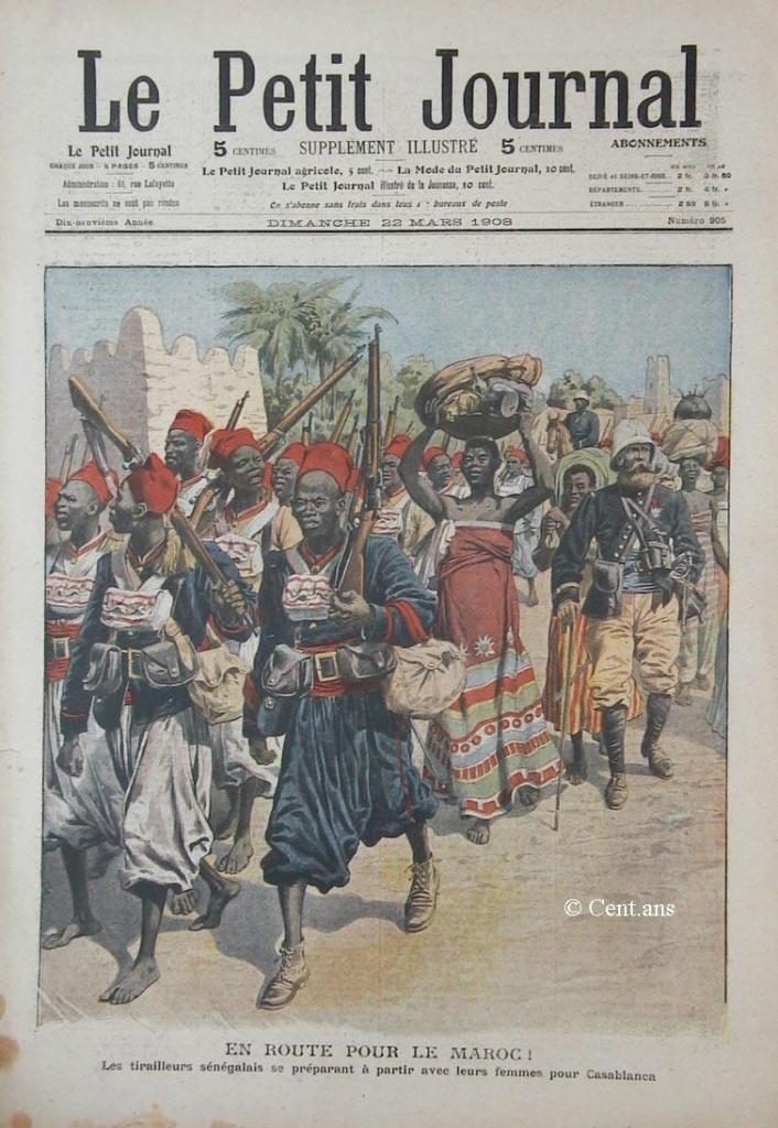 صفحات من تاريخ المغرب الحديث من خلال Le Petit journal illustré 343784pj90522031908