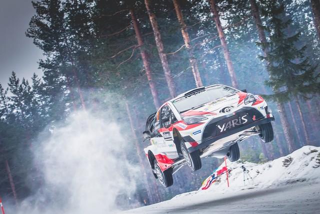 Jari-Matti Latvala Gagne En Suède Avec La Yaris WRC Et Prend La Tête Du Championnat Du Monde 344456N2017002059