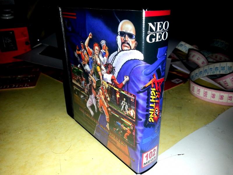 Insert neo geo x pour boites neogeo pocket 34508020130129205251