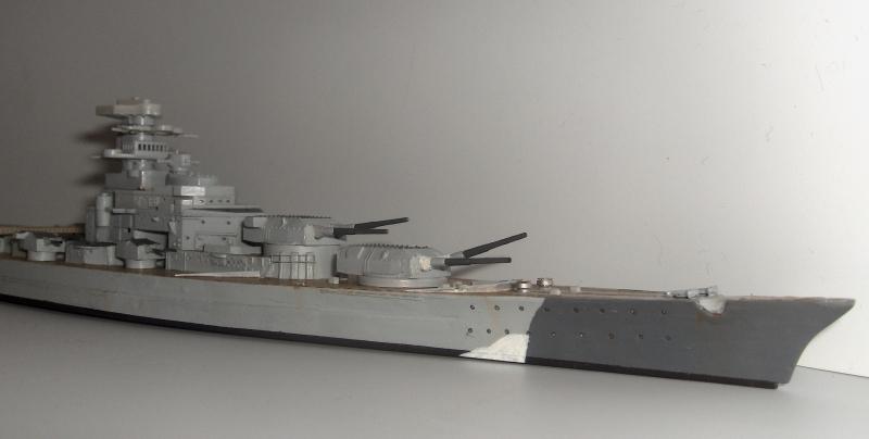 Bismarck 1/700 [Trumpeter] 346532HPIM1998