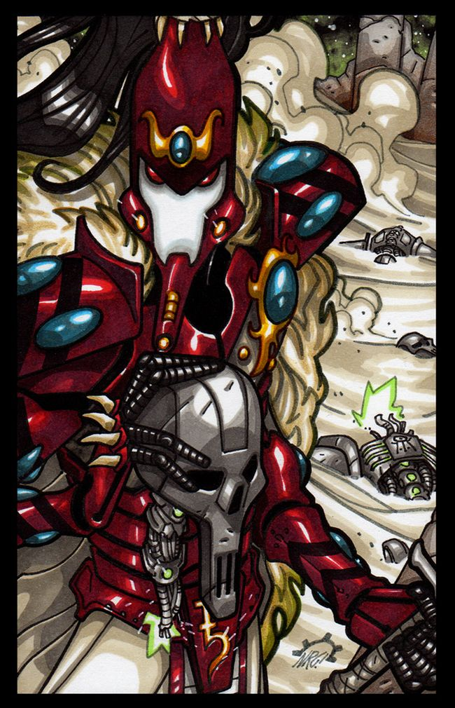 Visions of Warhammer 40K by Aerion the Faithful 351102Aenarion18
