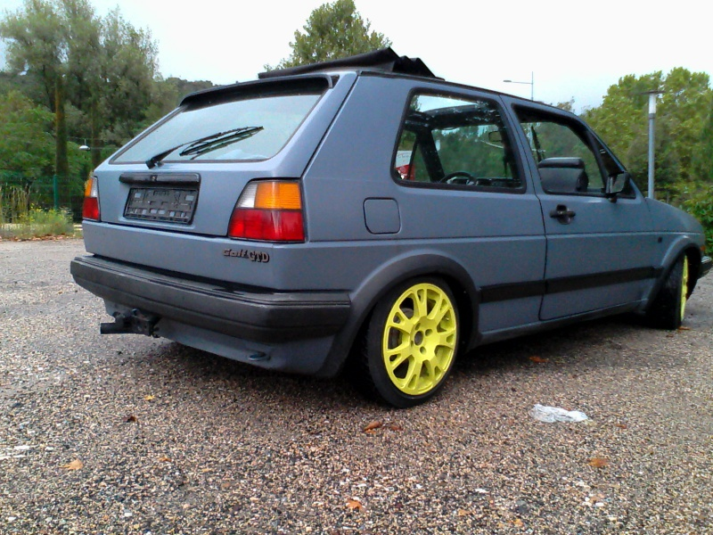 "Golf 2 1.6 TD Jr 1988 "" open air""  351309Ext5toitouvert"