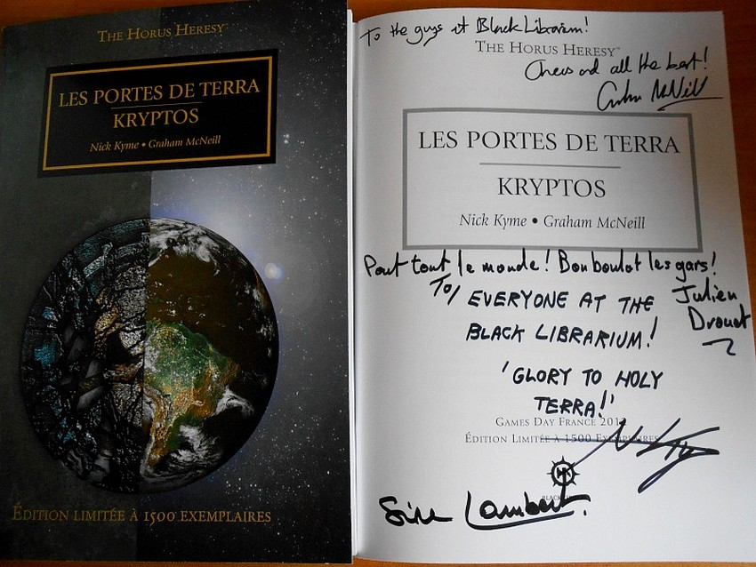 Les Portes de Terra / Kryptos 354377Kryptos