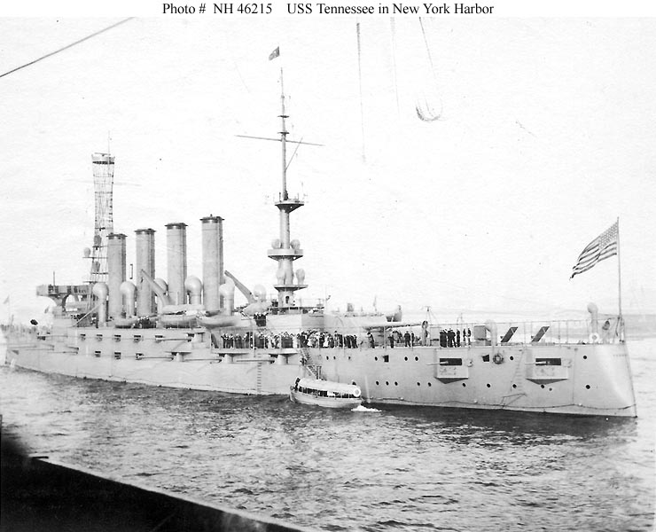 USN CROISEURS LOURDS CLASSE NEW ORLEANS  354711USS_Tennessee