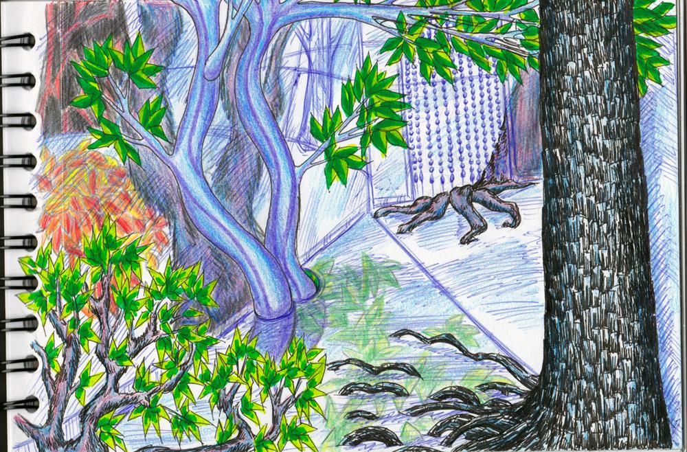 Dragons, chimères et créatures arc-en-ciel - Page 3 358986TourdeVerrecouloir