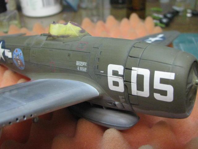 Restauration P-47D Monogram 1/48 .......Terminé!  - Page 2 360845IMG5927