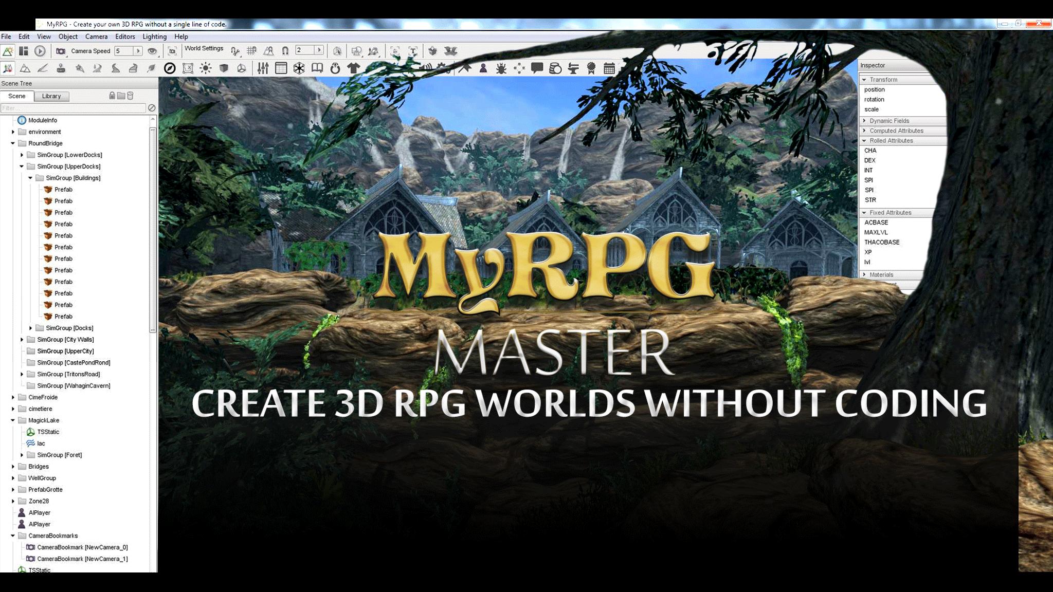 MyRPG Master, créez facilement vos propre jeux de rôle en 3D 360947093fd795c992439d83621a0bd7a5284c
