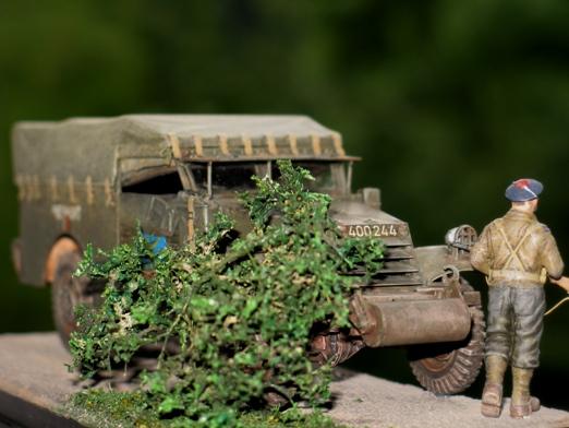 M3 Scout Car - Zvezda 1/35 362023modles31030