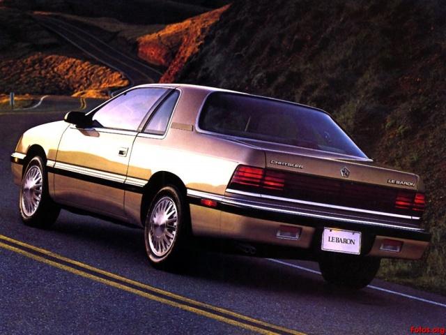 Ma Chrysler LeBaron 3621691990ChryslerLeBaronHighlineCoupeChampagneRrQtrjrk