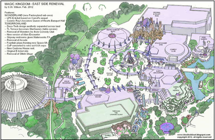 [Magic Kingdom] New Fantasyland aura t'il une 2e phase? 364334BlogWDWMK2025noRoAbirdsTL
