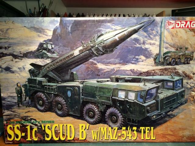W/MAZ -543 TEL  SCUDB  maquette dragon 1/35 365899IMG4281