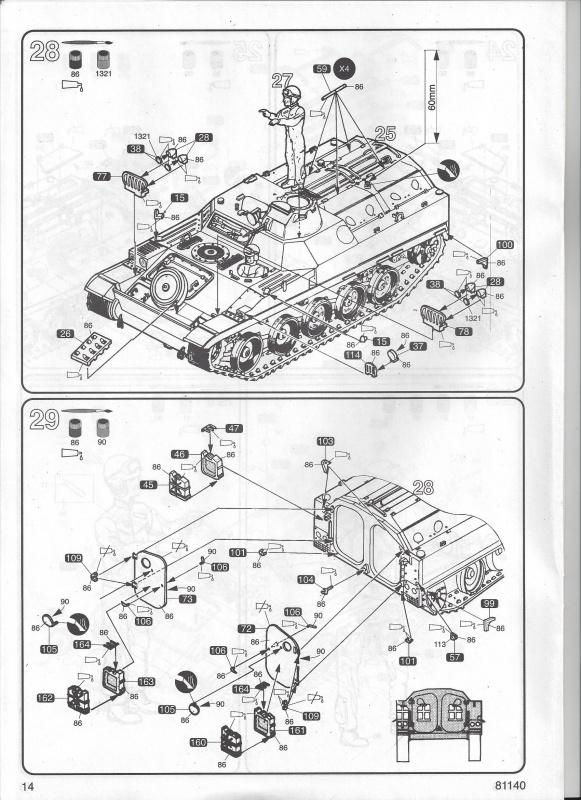 AMX 13 VCI 1/35ème Réf 81140 366826VCI014