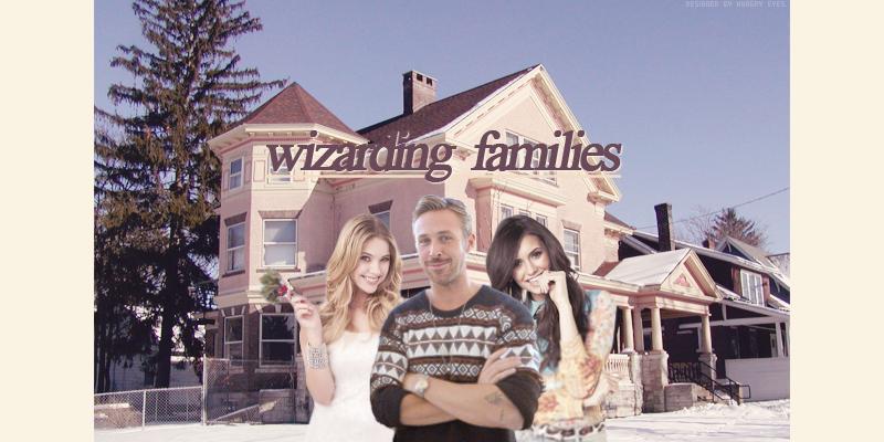 ✼ wizarding families