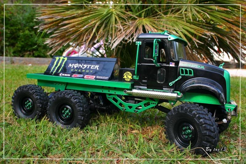 Mack 6x4 Monster Energy (FINI en attente d'un arceau) 367543IMG8108