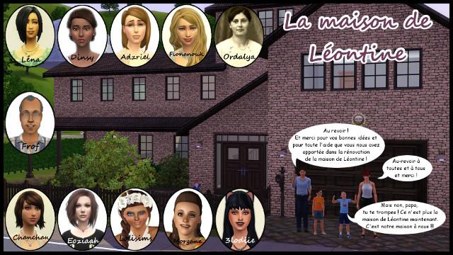 """Résultats du concours """"La maison de Léontine"""" 369168Participantsconcours"""