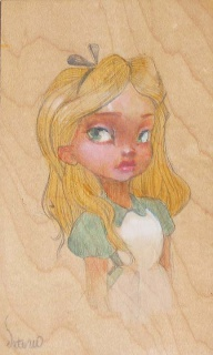 [Collection] Disney Fine Art de Collectors Editions (artworks) 370482549O0003B20Alice20Portrait205X3