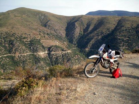 Gros trail et ++ en balade  à Axat , samedi 4 Octobre 370899SDC18204