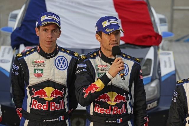 Saison réussie, conclue par une 12ème victoire : Volkswagen et Ogier victorieux au Rallye de Grande-Bretagne  372220md5vwgb15112015ingrassiaogier
