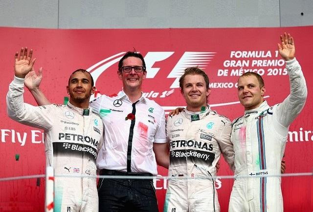 F1 GP du Mexique  2015 : Victoire de Nico Rosberg  3723952015HamiltonRosbergBottas
