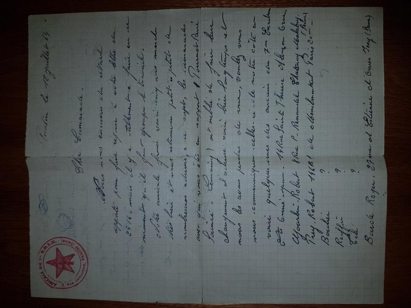 Brigadier Chef ANDRÉ Lucien 7°esc. 1er RMSM  † 12/02/2010  - Page 2 37266820170201230622