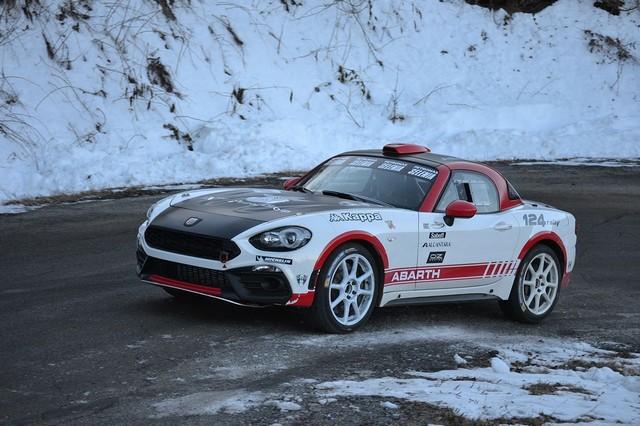 Premier test concluant en course pour l'Abarth 124 rally au 85ème Rallye de Monte-Carlo 373325170105AbarthMontecarlo01