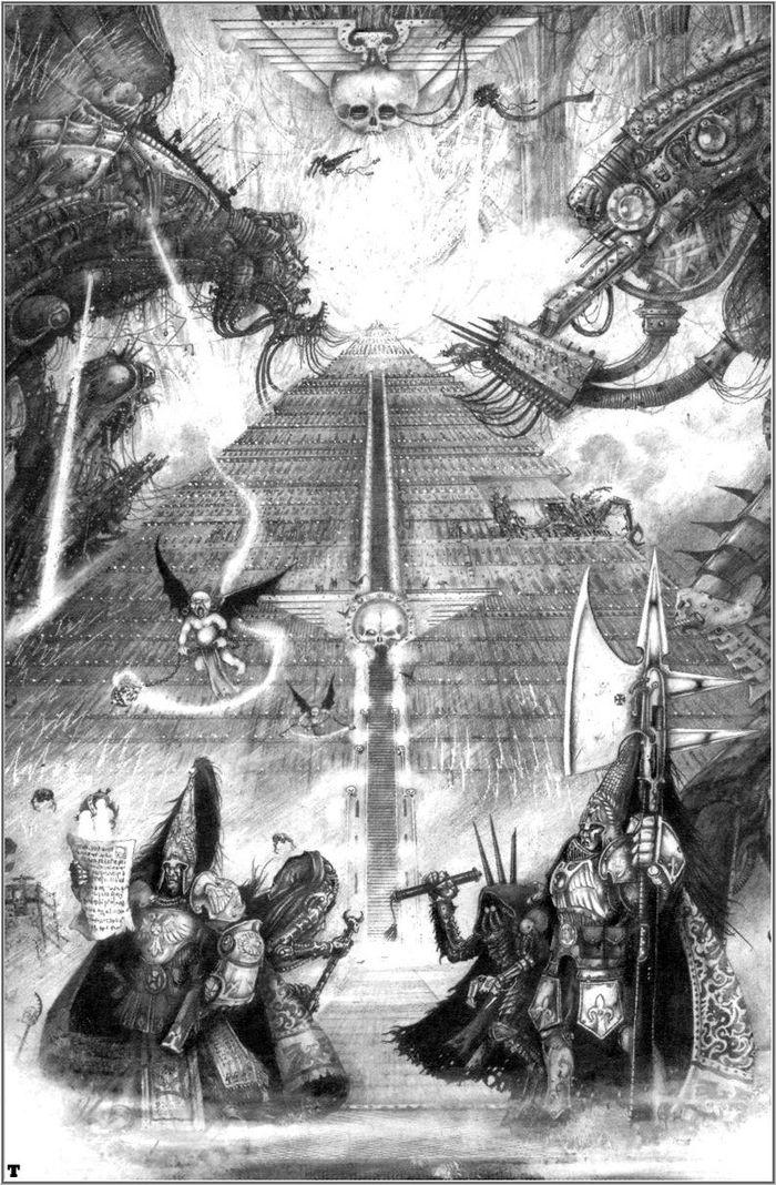 La Volonté de l'Empereur de John Blanche (Art Book) - Page 2 373646Blanche14