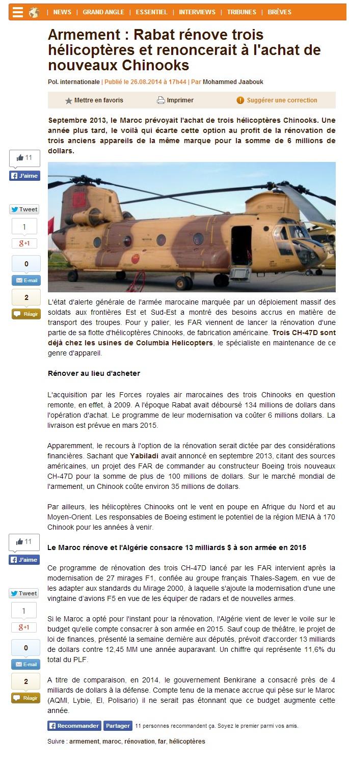 ثلاث مروحيات شينوك إضافية للمغرب - صفحة 2 375135Marocarmement
