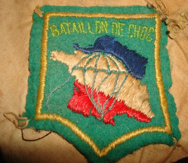LES INSIGNES DU BATAILLON DE CHOC 1943/1963. 376861DSC09266