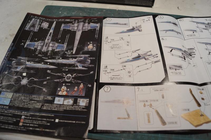 "X-Wing ""Resistance"" T-70 Bandaï 1/72 376940DSC01394"