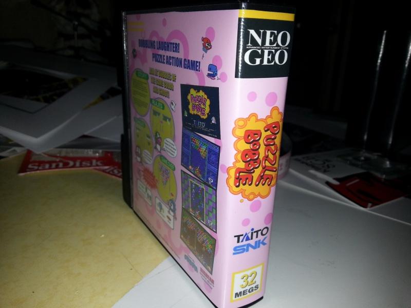Insert neo geo x pour boites neogeo pocket 37850920130129222157